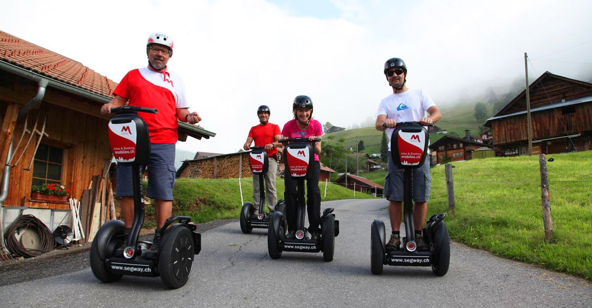 Segway Tour Alptour Interlaken