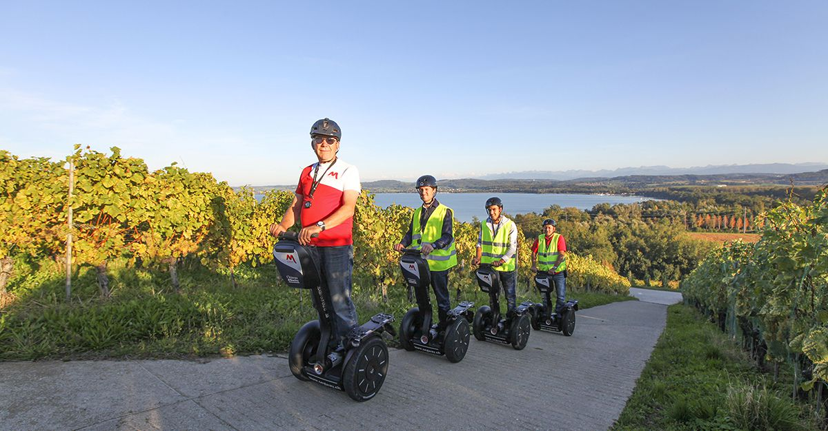 Segway Tour Mont Vully