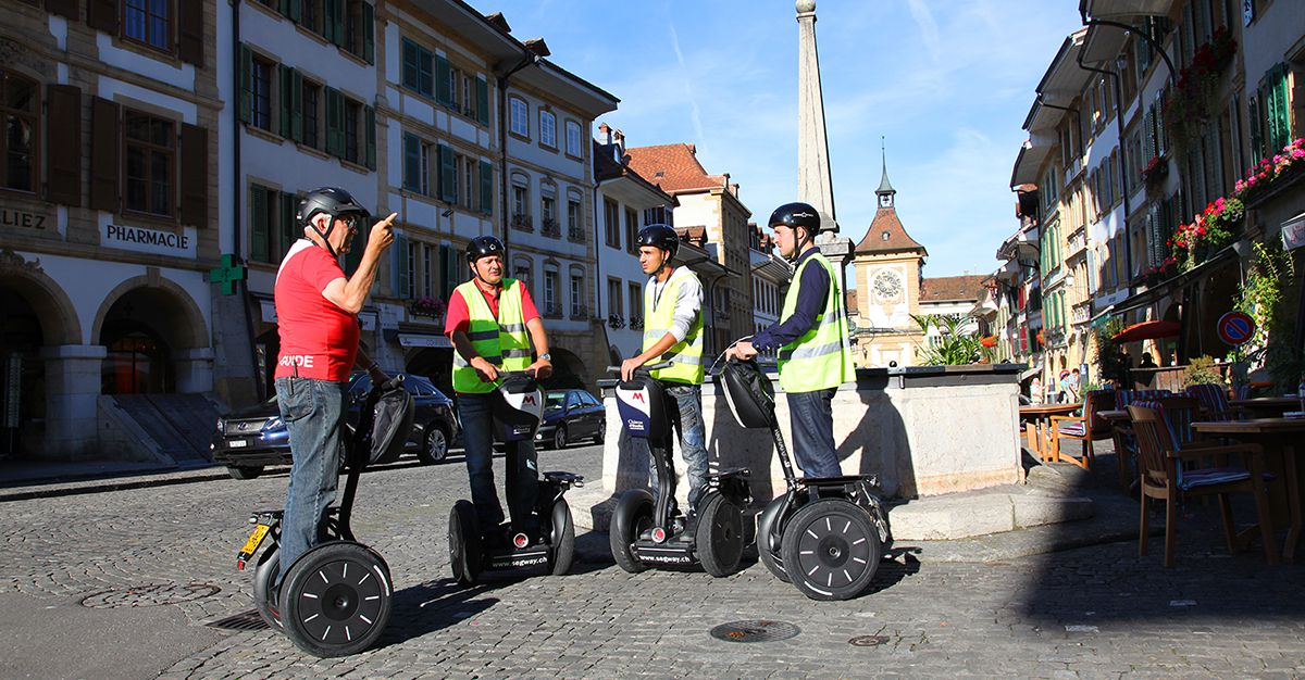Segway Tour Murten & surroundings