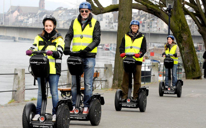 Segway Wintertrip Basel «St. Alban plus»
