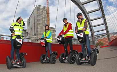 Segway Tour Zürich «Züri West Winter»