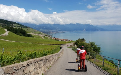 Segway Tour Lavaux «the vineyards»