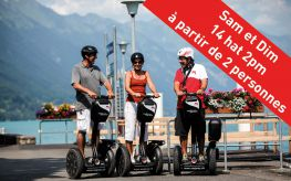 Segway Tour Interlaken «Lake to Lake»