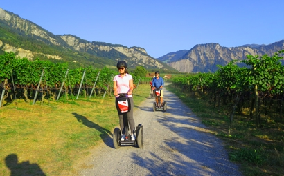 Segway Tour Heidiland «Heidi on the track»